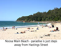 Holidaying on Noosa Beachfront